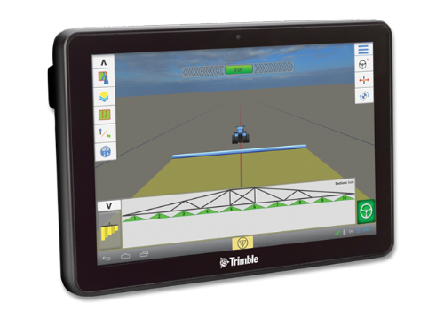 Trimble Field IQ Section and Rate Control